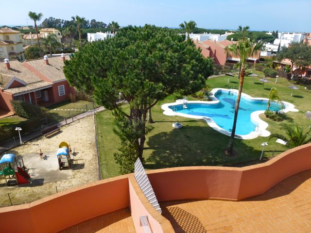 Brenda, Modern and comfortable apartment  with communal pool in Chiclana de la Frontera, Andalusia, Spain for 4 persons.....