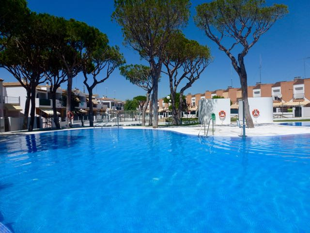 Montemar, Rustic and nice apartment in Chiclana de la Frontera, Andalusia, Spain  with communal pool for 5 persons.....
