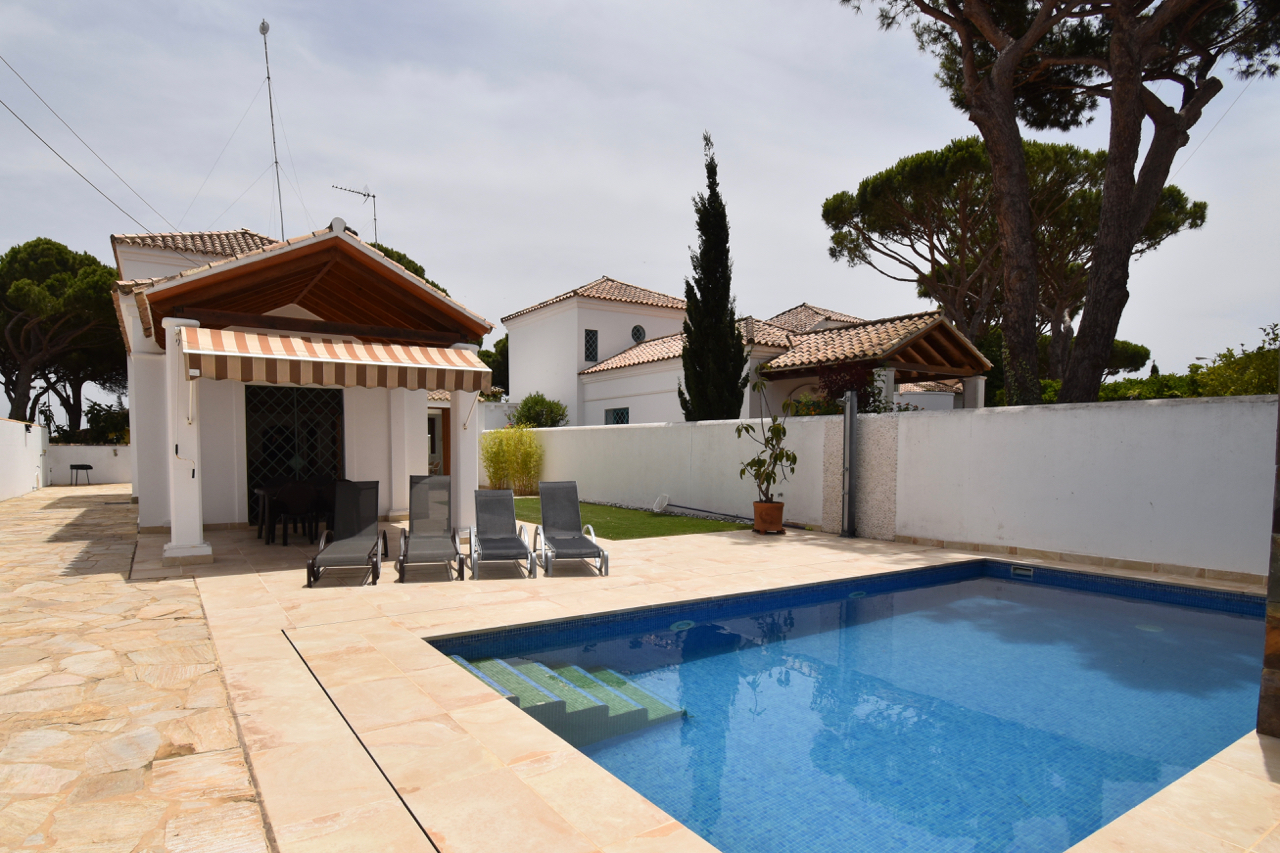 Concepcion, Villa  with private pool in Chiclana de la Frontera, Andalusia, Spain for 8 persons.....