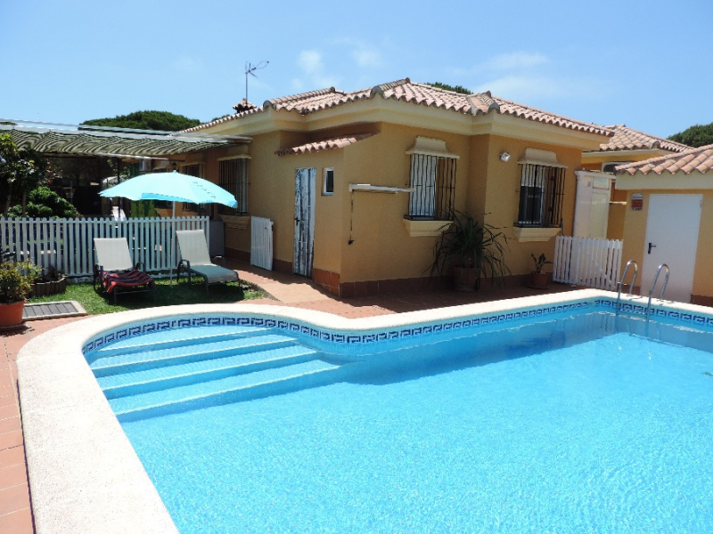Maresia, Villa in Chiclana de la Frontera, Andalusia, Spain  with private pool for 4 persons.....
