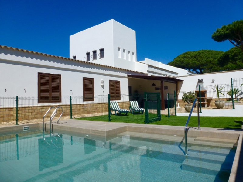 Valeria, Villa in Chiclana de la Frontera, Andalusia, Spain  with private pool for 6 persons.....