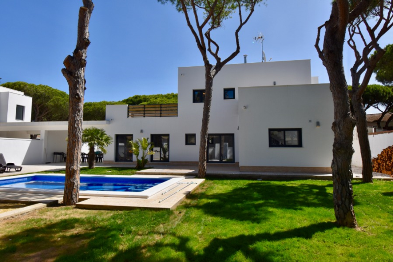 Mar 2,Grande villa à Chiclana de la Frontera, Andalousie, Espagne  avec piscine privée pour 8 personnes.....