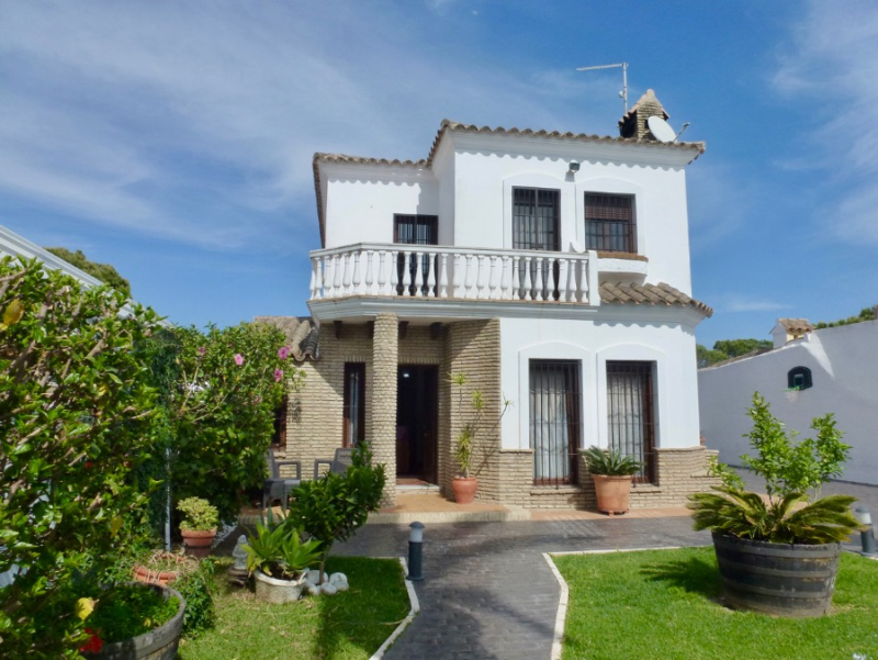 Rosario 55, Villa in Chiclana de la Frontera, Andalusia, Spain  with private pool for 6 persons.....