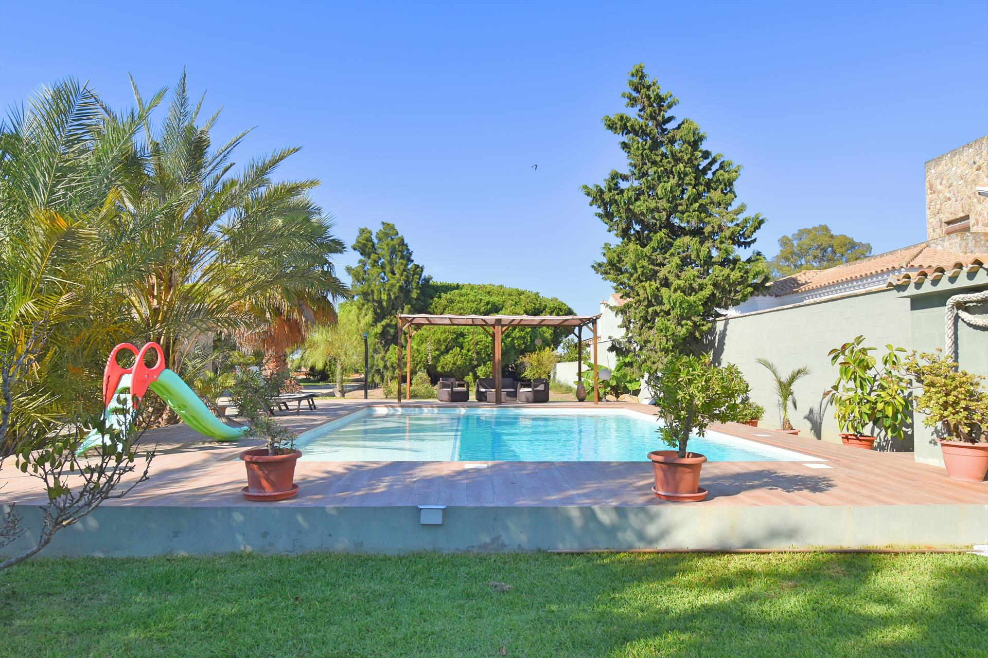 Albacora, Villa in Chiclana de la Frontera, Andalusia, Spain  with private pool for 9 persons.....