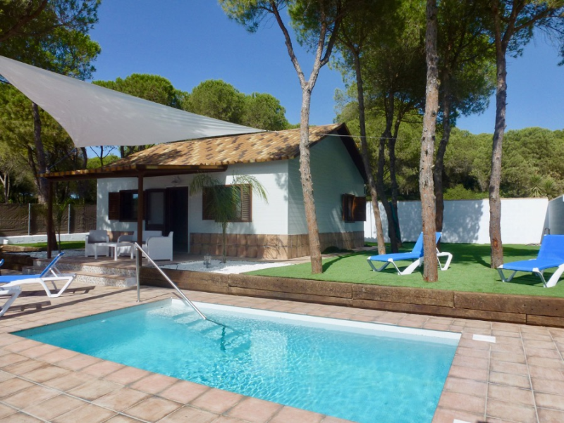Pepa, Modern and comfortable villa  with private pool in Chiclana de la Frontera, Andalusia, Spain for 5 persons.....