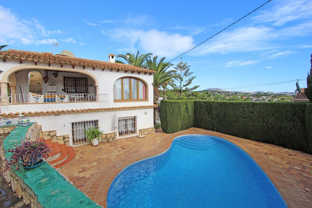 Casa La Chata 6, Classic villa  with private pool in Benissa, on the Costa Blanca, Spain for 6 persons.....