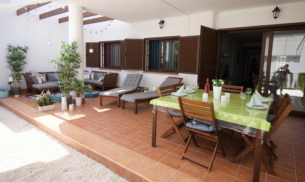 Jazmines, Lovely and cheerful apartment in San Juan de los Terreros, Andalusia, Spain  with communal pool for 6 persons.....