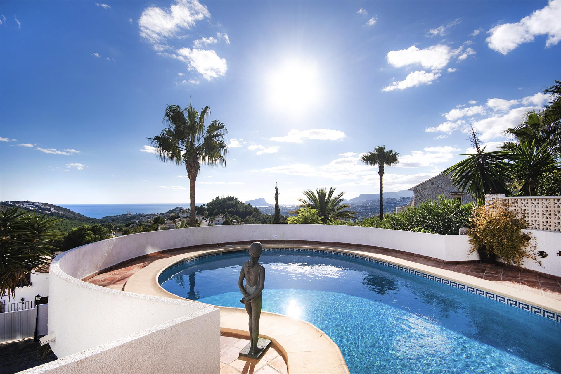 Estrella del Sur, Villa in Benitachell, on the Costa Blanca, Spain  with private pool for 4 persons...