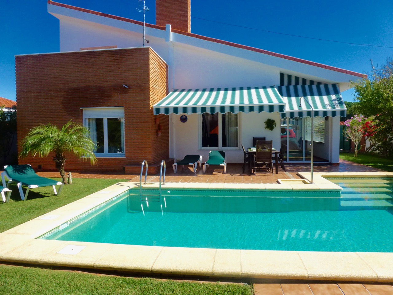 Stella, Villa in Chiclana de la Frontera, Andalusia, Spain  with private pool for 6 persons.....
