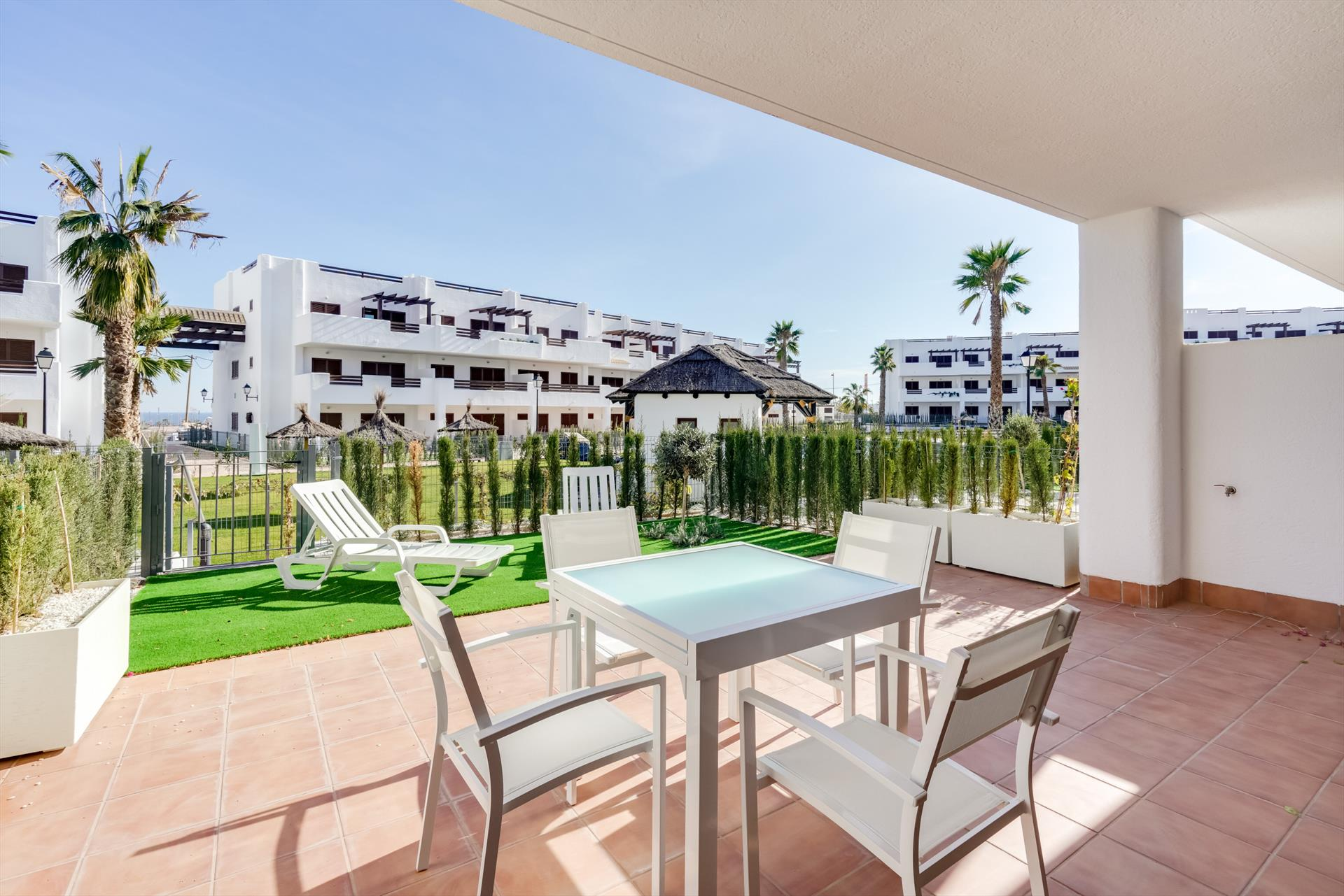 Orquidea,Large and nice apartment in San Juan de los Terreros, Andalusia, Spain  with communal pool for 4 persons...