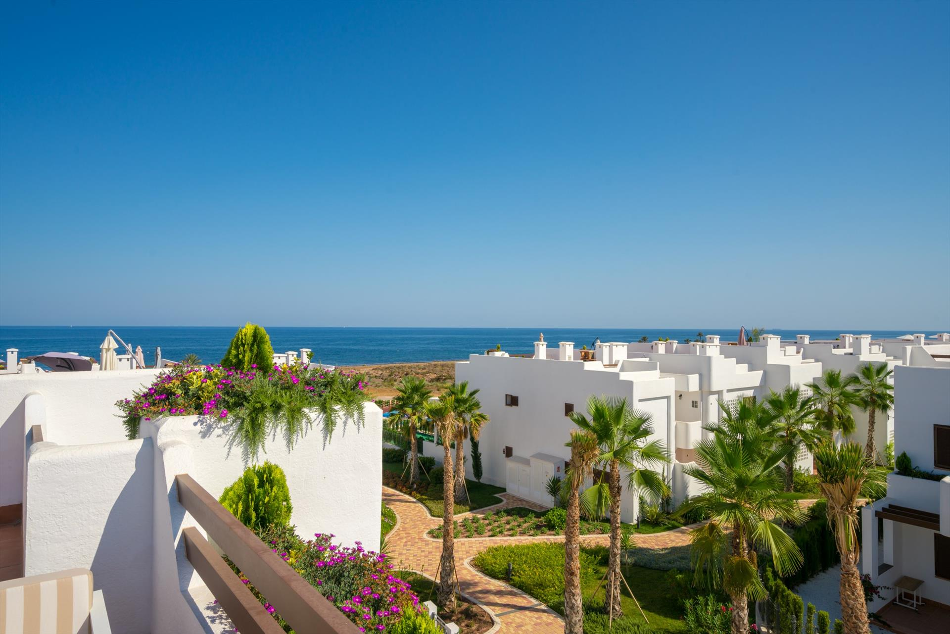 Uva,Lovely and cheerful apartment  with communal pool in San Juan de los Terreros, Andalusia, Spain for 6 persons.....