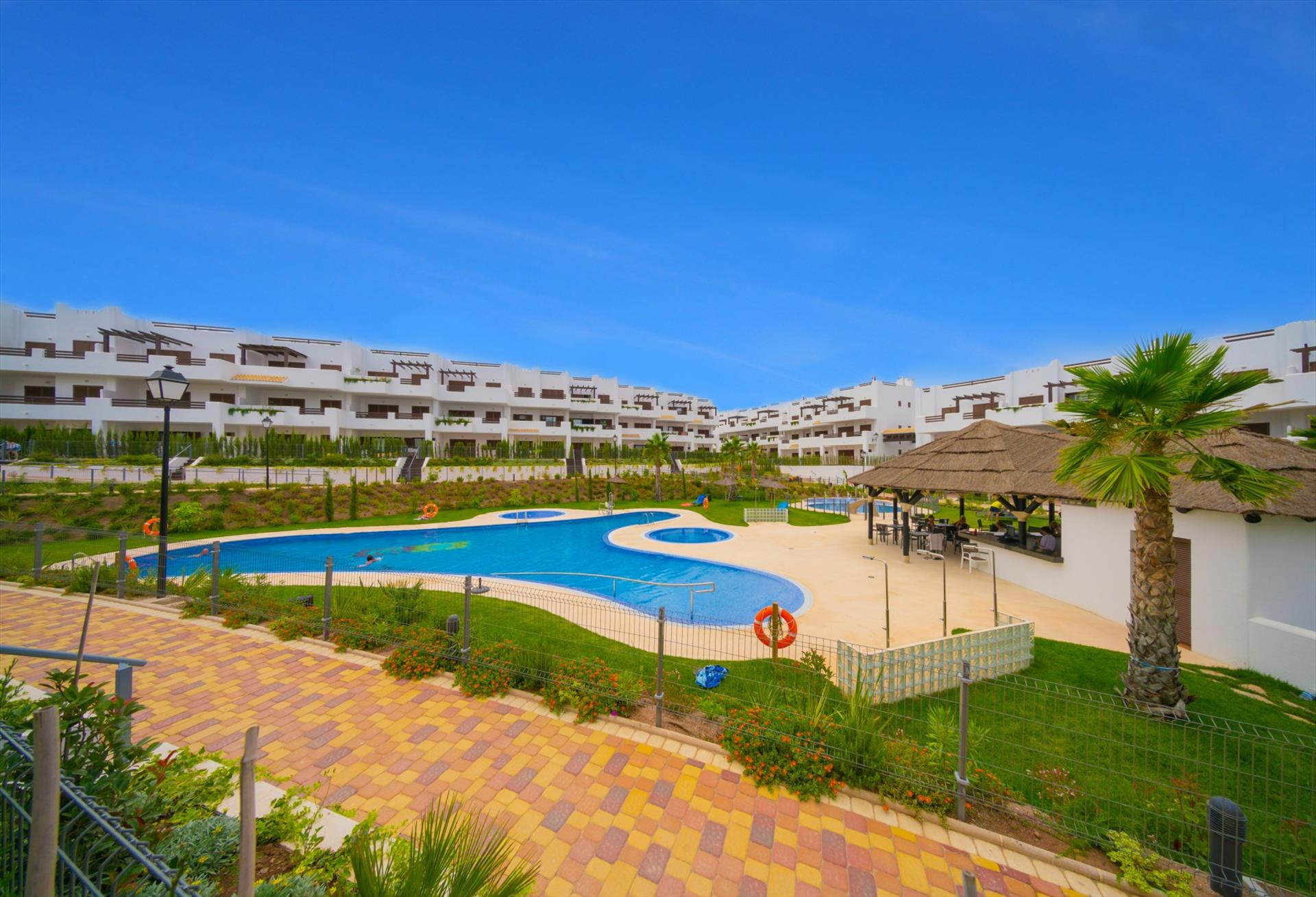 Pomelo,Large and nice apartment  with communal pool in San Juan de los Terreros, Andalusia, Spain for 4 persons.....