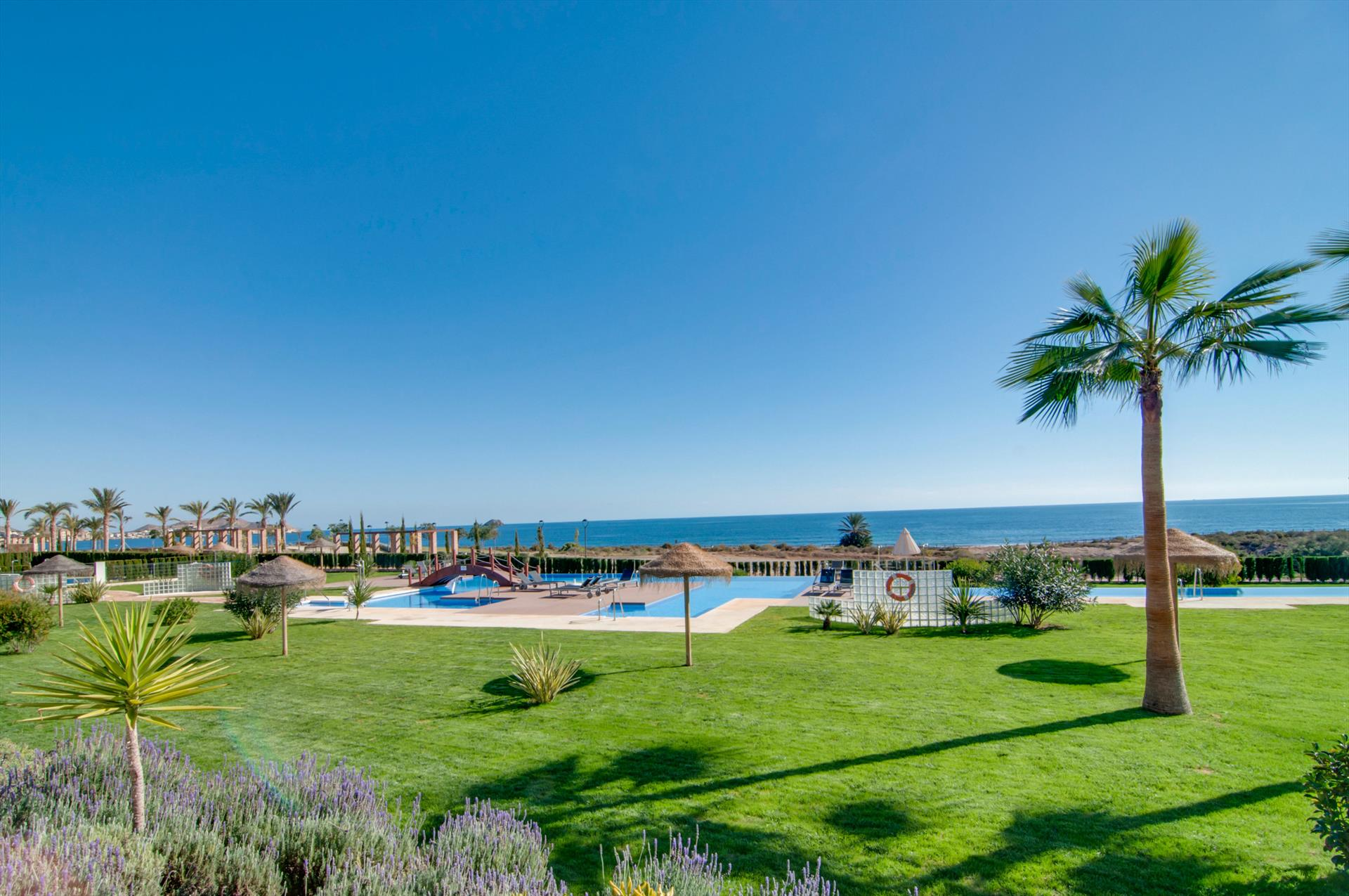 Mora,Lovely and cheerful apartment in San Juan de los Terreros, Andalusia, Spain  with communal pool for 4 persons.....