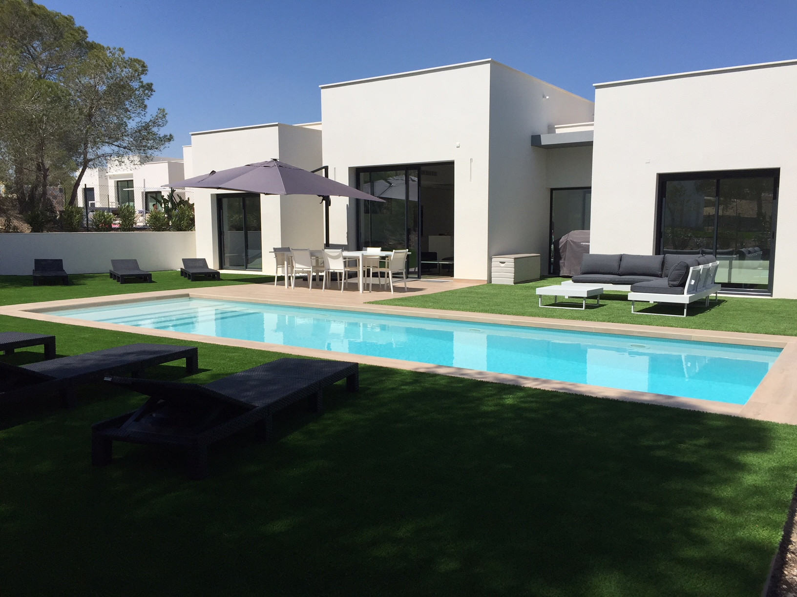Villa Acacia, Wonderful and  luxury villa in Orihuela Costa, on the Costa Blanca, Spain  with heated pool for 6 persons.....