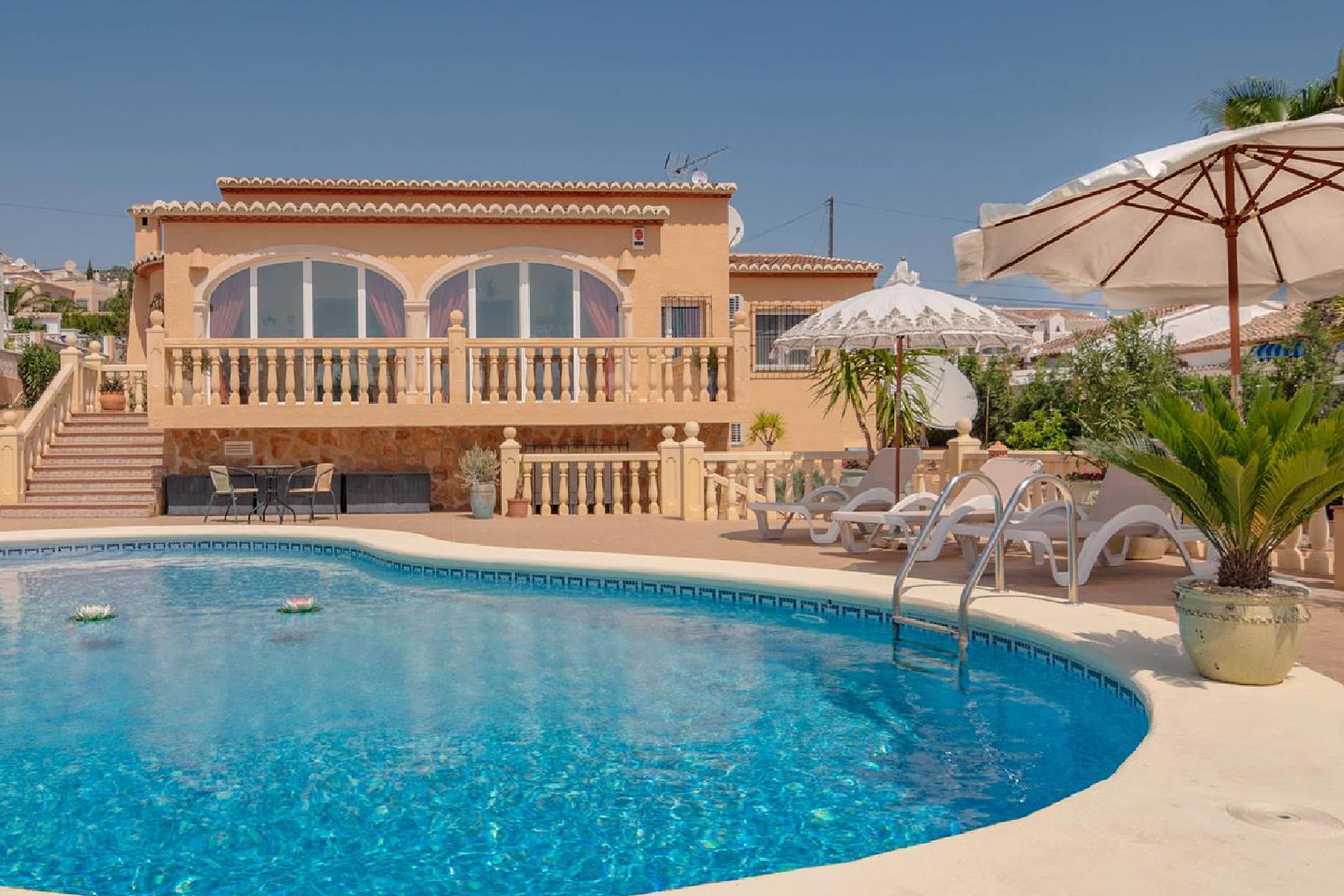 Les Fonts, Classic and comfortable luxury villa in Benitachell, on the Costa Blanca, Spain  with private pool for 6 persons...