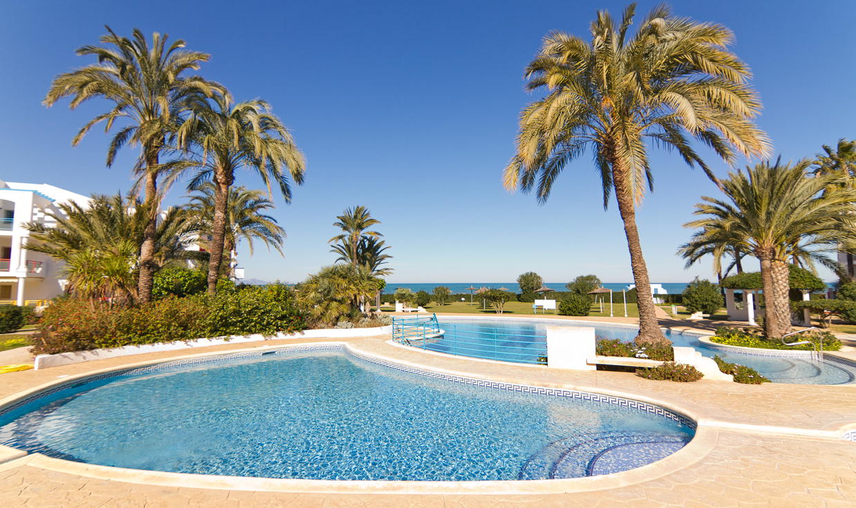ALBERCA 17, Lovely and nice apartment  with communal pool in Denia, on the Costa Blanca, Spain for 3 persons.....