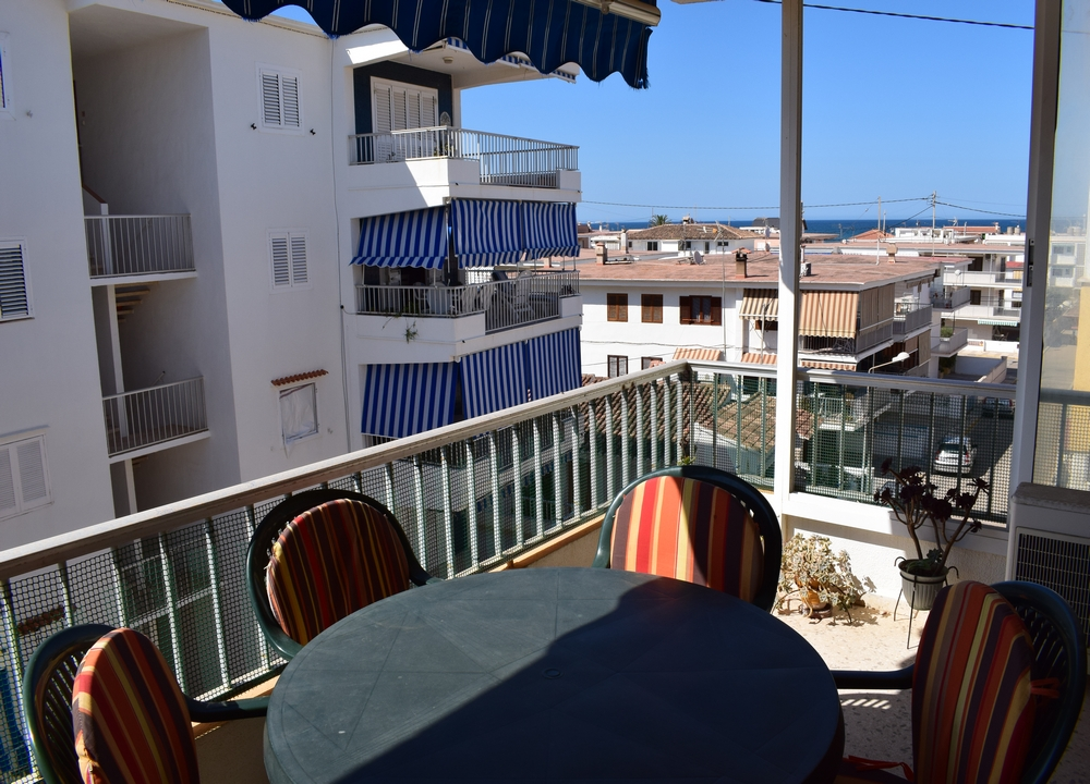 AP0500 Apartamento en Pau Pi con terraza vistas al mar, Beautiful and romantic apartment in Oliva, on the Costa Blanca, Spain for 6 persons.....