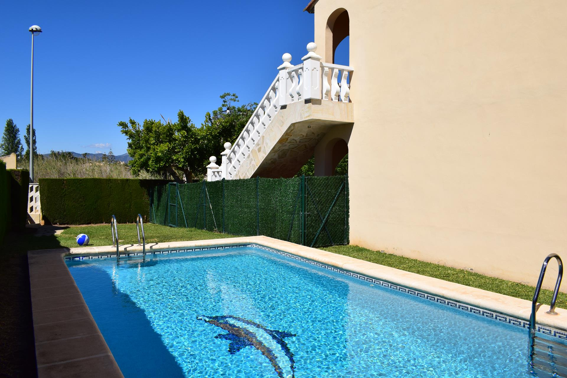 AP707, Wonderful and comfortable apartment in Oliva, on the Costa Blanca, Spain  with communal pool for 6 persons.....