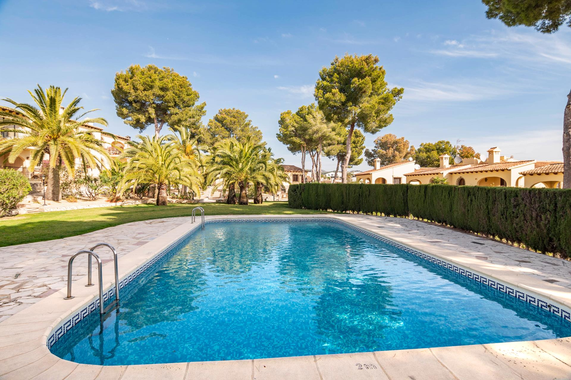 Oviedo, Classic and comfortable holiday house in Moraira, on the Costa Blanca, Spain  with communal pool for 4 persons...