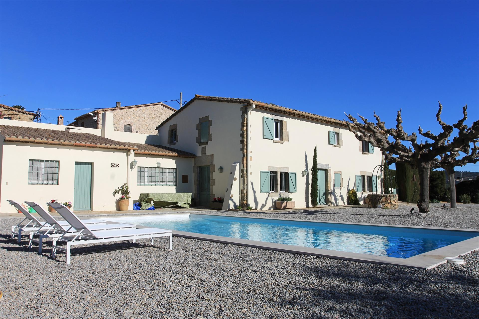 La portenya,Villa in Calonge, Catalonia, Spain  with private pool for 8 persons...