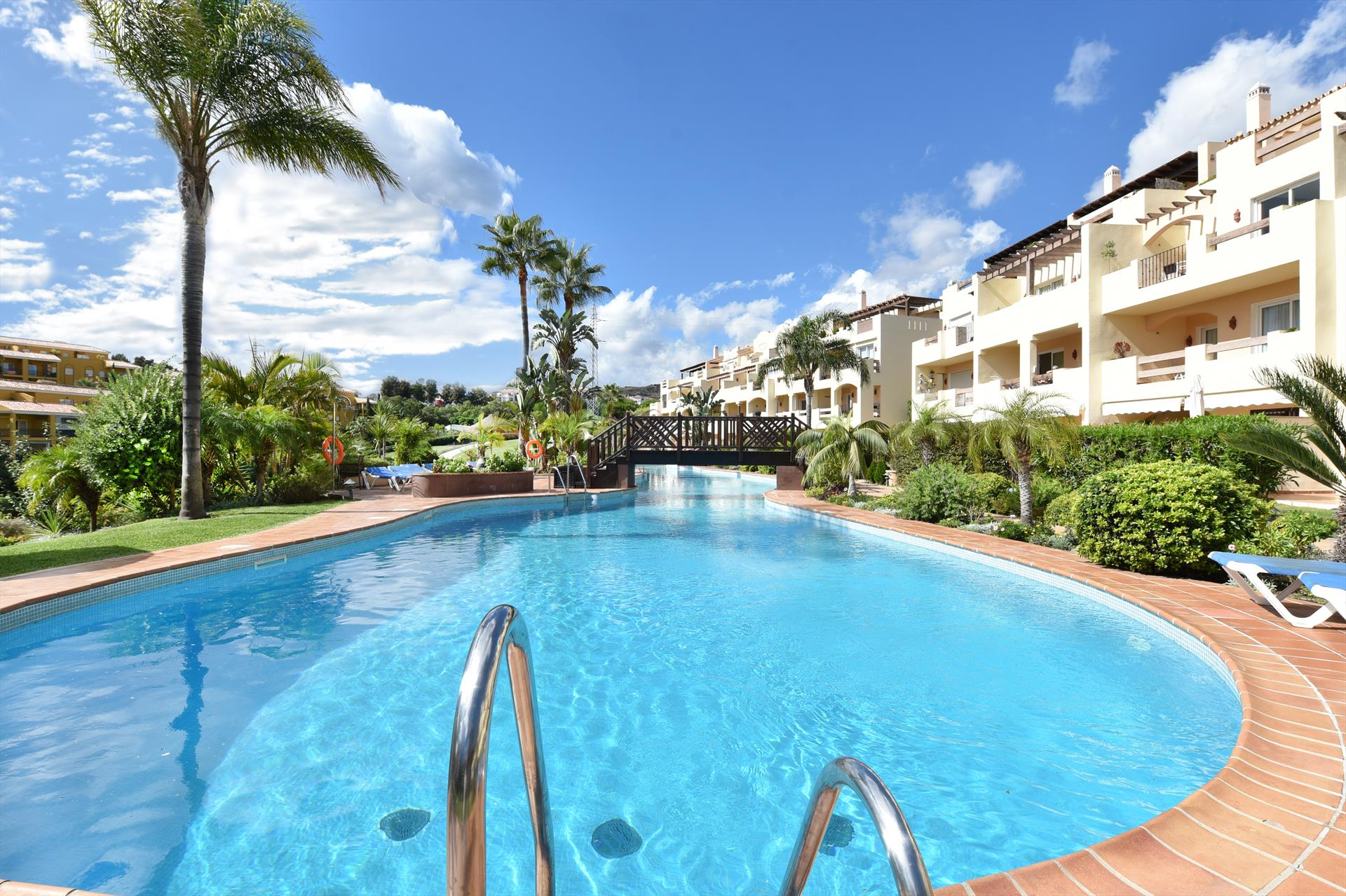 La Rinconada, Modern and comfortable apartment  with communal pool in Mijas costa, Andalusia, Spain for 4 persons.....