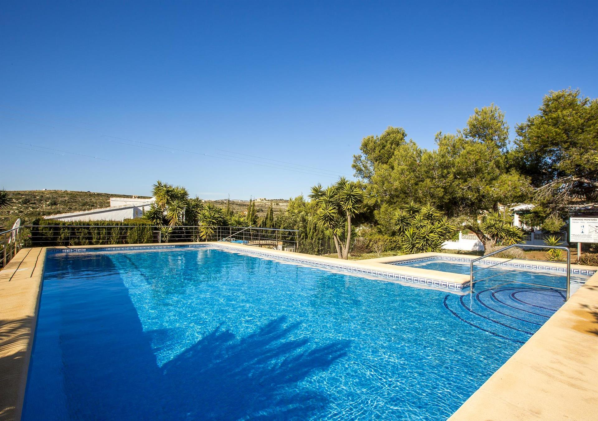 Ania 6 pax, Classic and comfortable holiday home in Moraira, on the Costa Blanca, Spain for 6 persons...