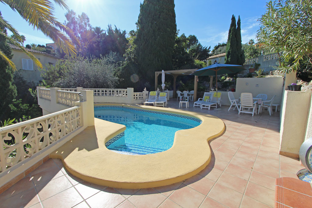 Casa Refugio 4, Villa in Moraira, on the Costa Blanca, Spain  with private pool for 4 persons.....