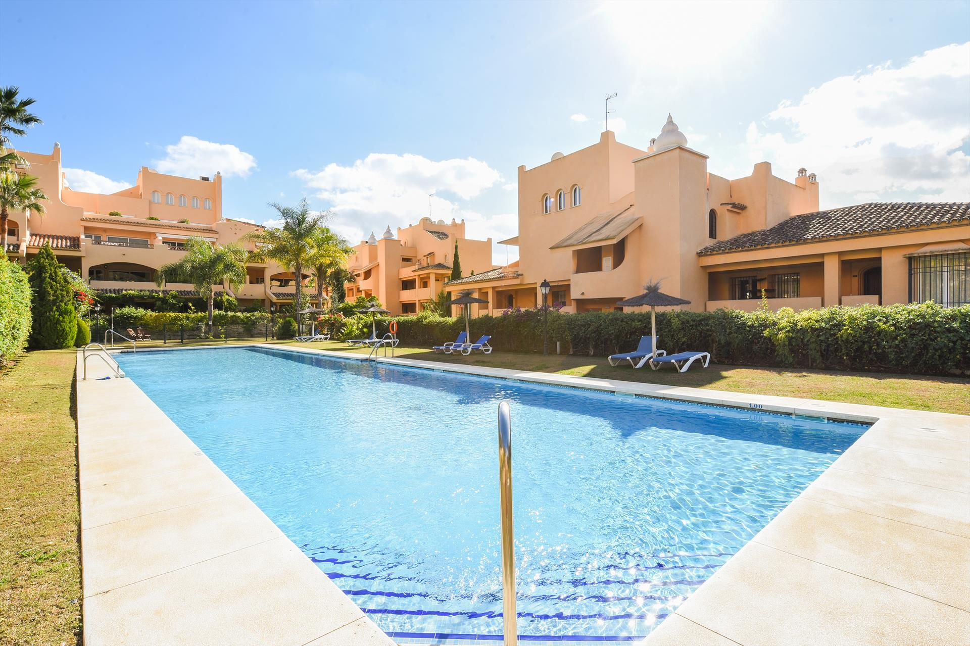 Apartment Maria Village, Modern and cheerful apartment in Marbella, Andalusia, Spain  with communal pool for 4 persons.....