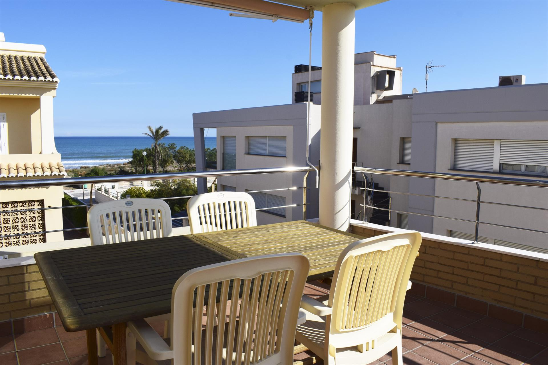 AT2227 Atico Les Barques Sector 5, Modern and comfortable holiday house in Oliva, on the Costa Blanca, Spain for 4 persons.....