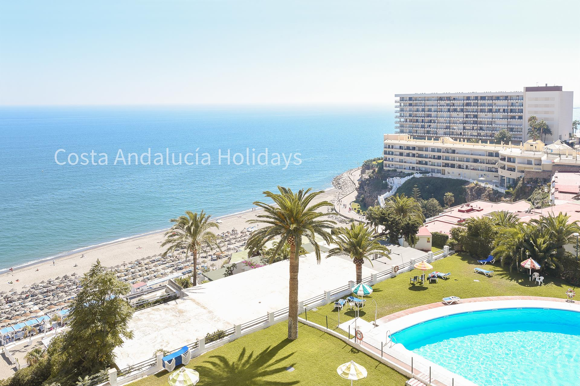 La Roca, Beautiful and comfortable apartment  with communal pool in Torremolinos, Andalusia, Spain for 2 persons.....