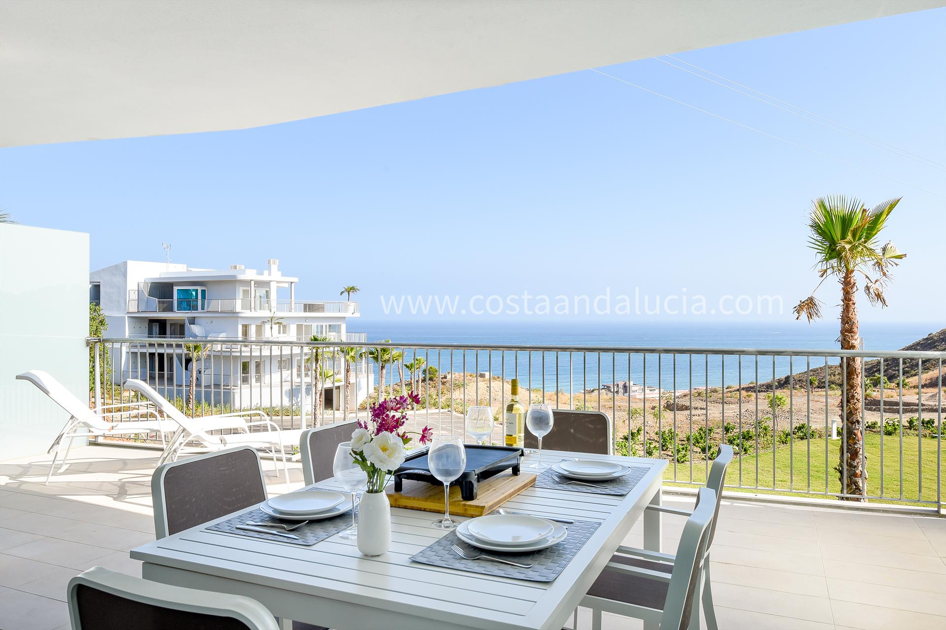 South Beach 4, Beautiful and luxury apartment  with communal pool in Fuengirola, Andalusia, Spain for 4 persons.....