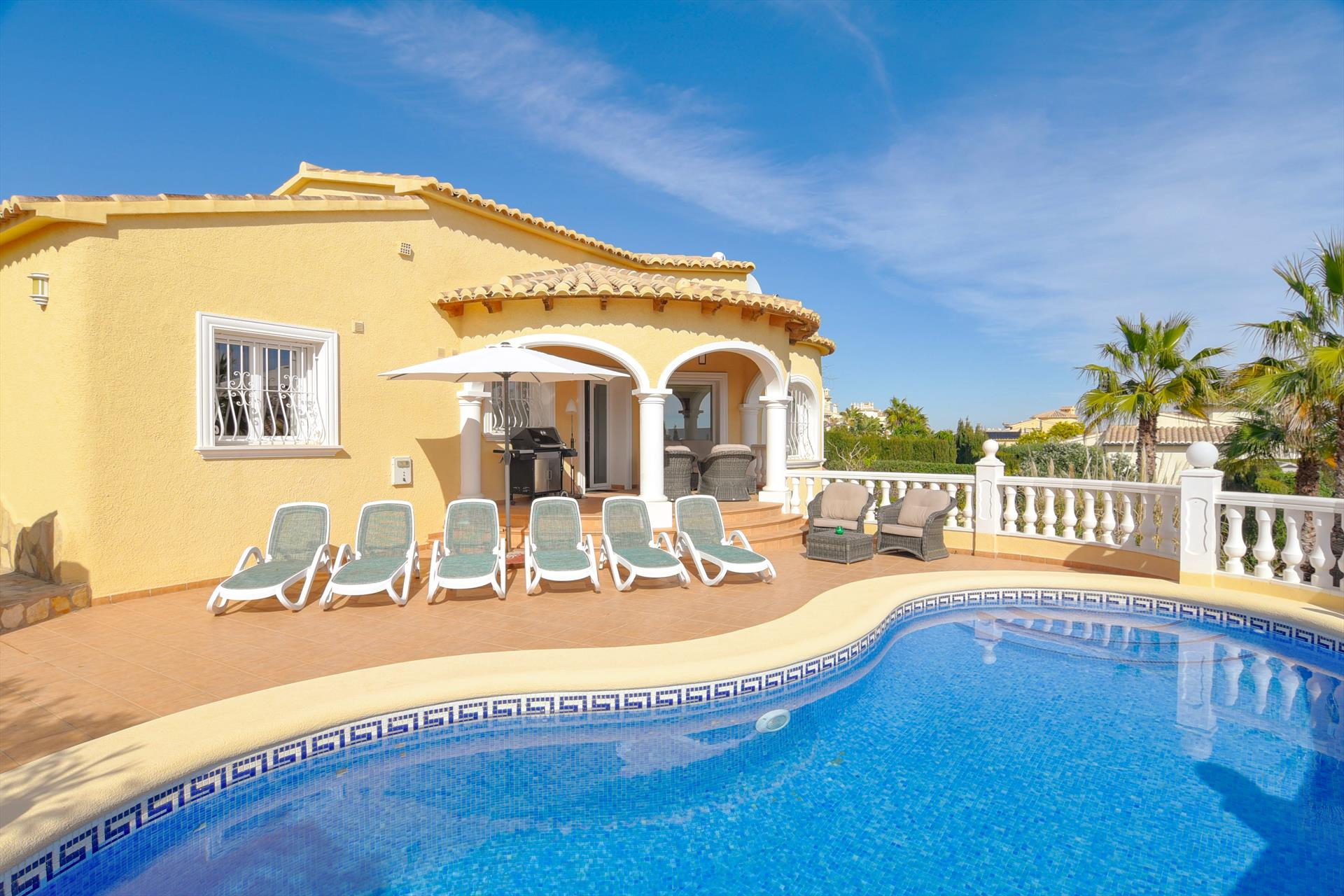 Biamar, Villa in Benitachell, on the Costa Blanca, Spain  with private pool for 6 persons...