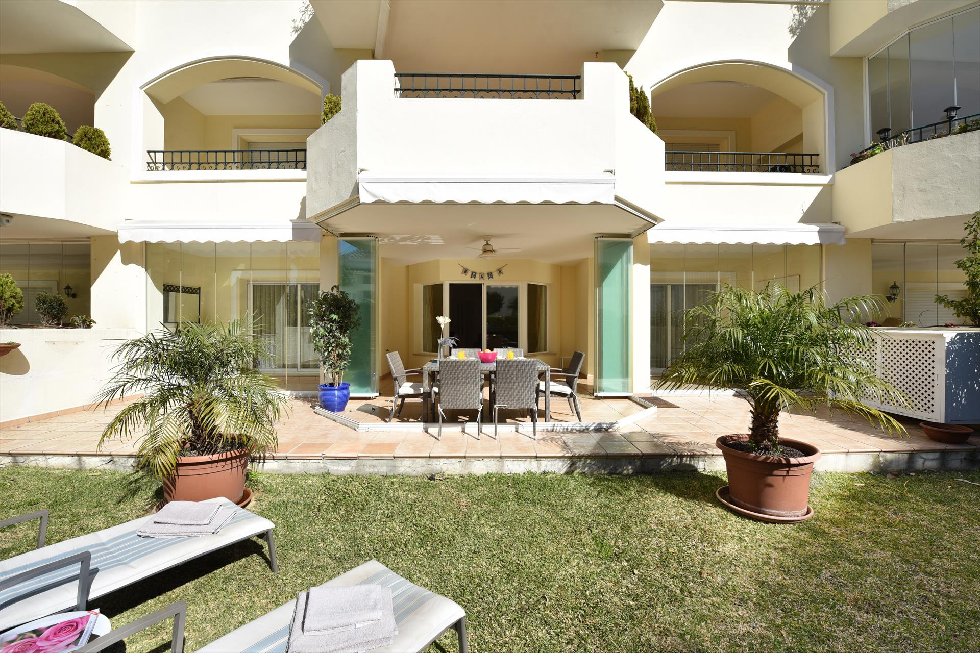 Hacienda Playa 471, Modern and comfortable apartment  with communal pool in Marbella, Andalusia, Spain for 4 persons...