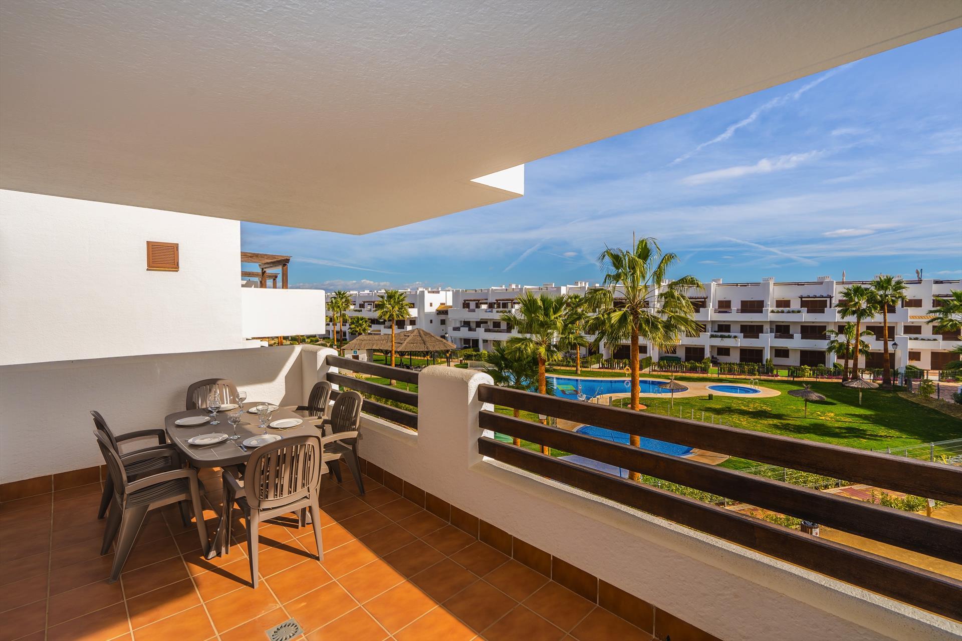 Mar,Wonderful apartment  with communal pool in San Juan de los Terreros, Andalusia, Spain for 6 persons.....