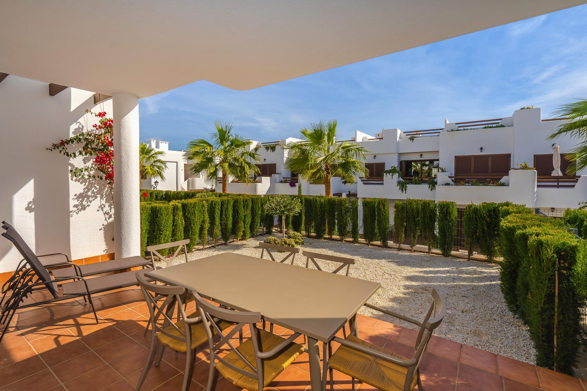 Acqua, Lovely apartment in San Juan de los Terreros, Andalusia, Spain  with communal pool for 4 persons.....