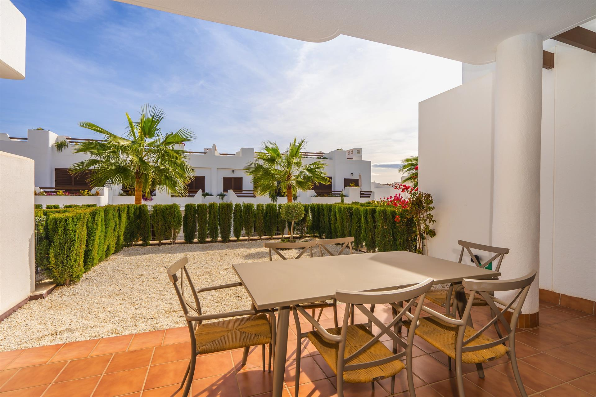 Cala,Lovely apartment in San Juan de los Terreros, Andalusia, Spain  with communal pool for 5 persons.....