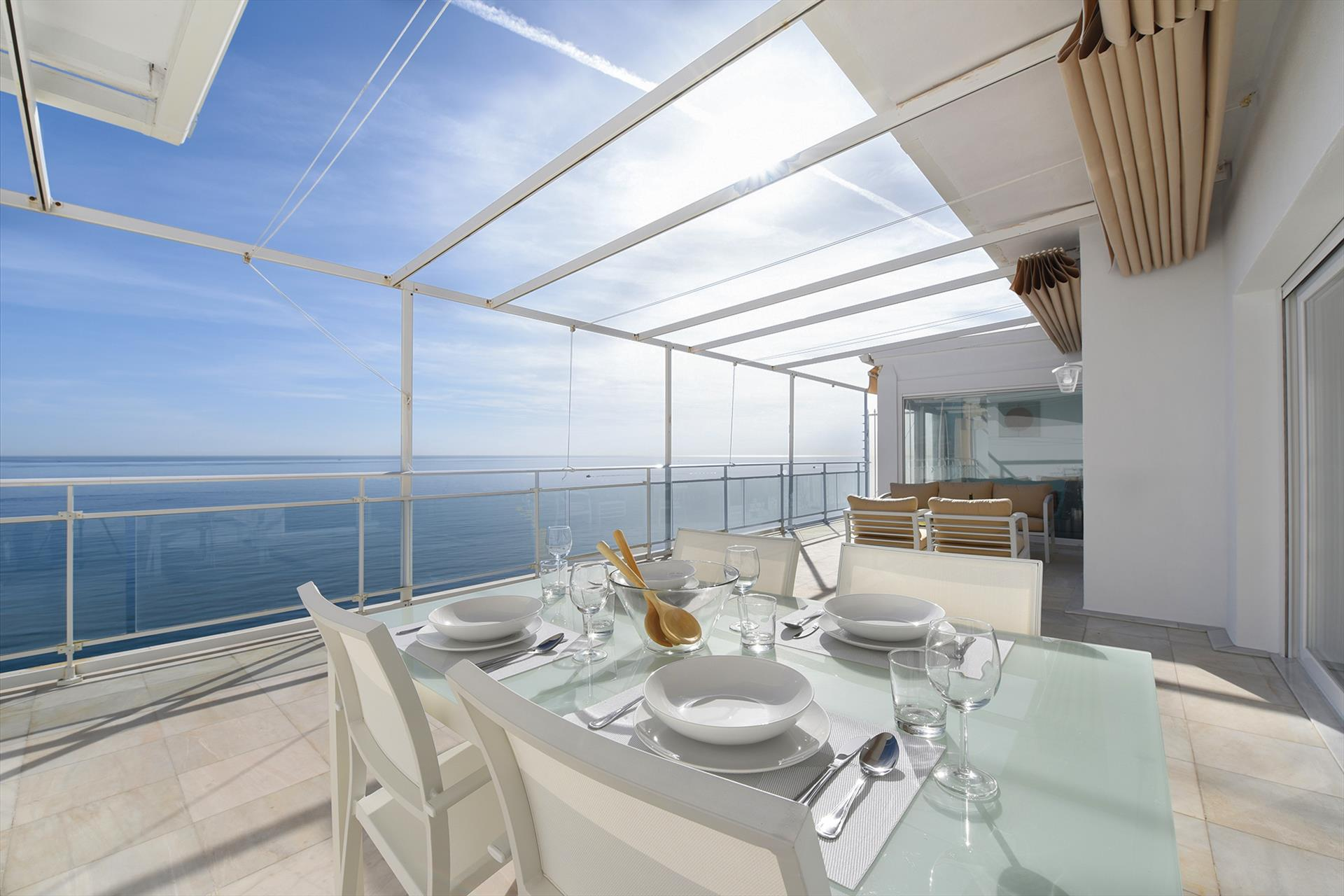 Maria Paola penthouse, Modern and comfortable holiday house in Fuengirola, Andalusia, Spain for 4 persons.....