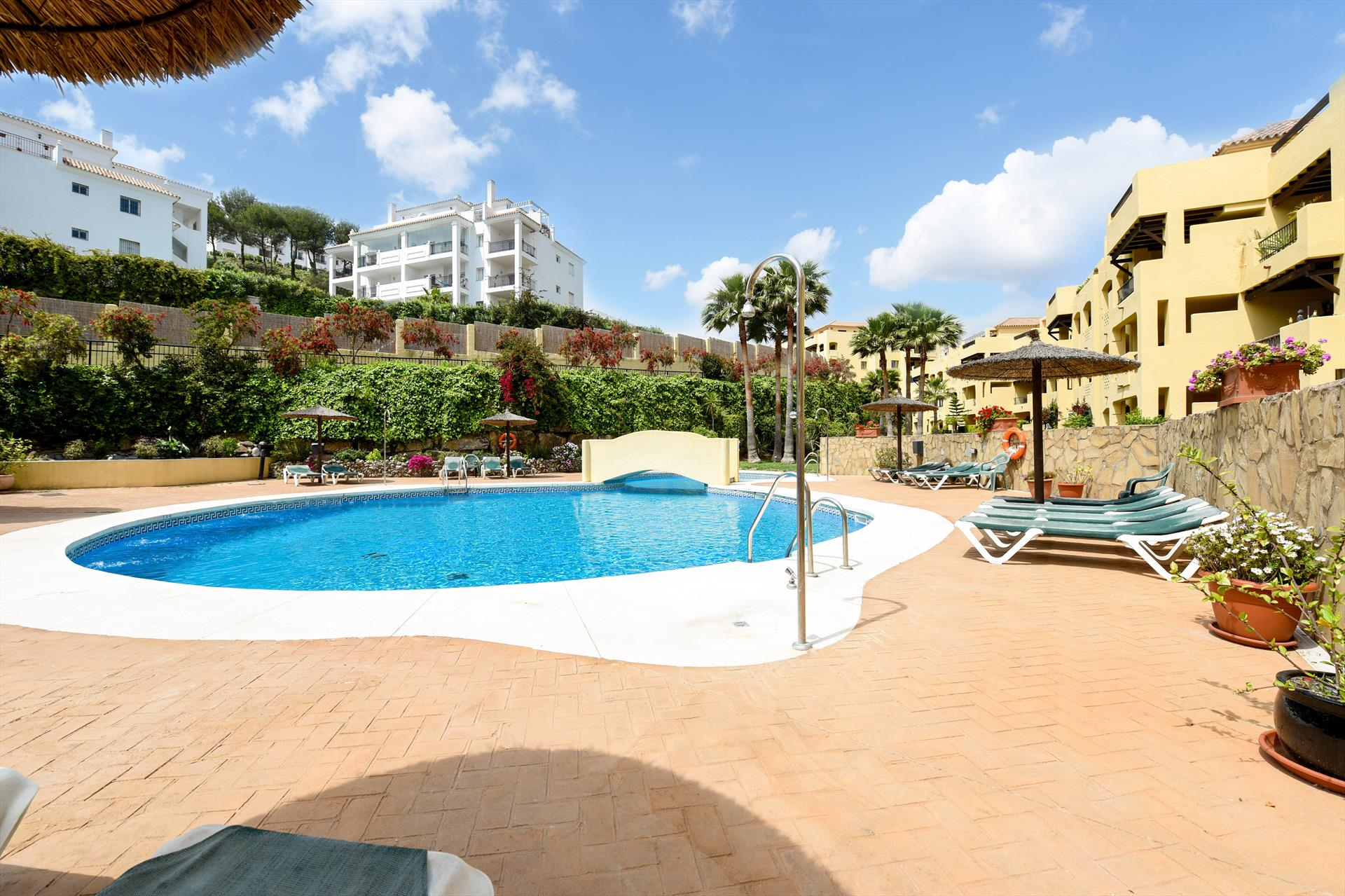 Mijares, Beautiful and comfortable apartment in Mijas costa, Andalusia, Spain  with communal pool for 4 persons...