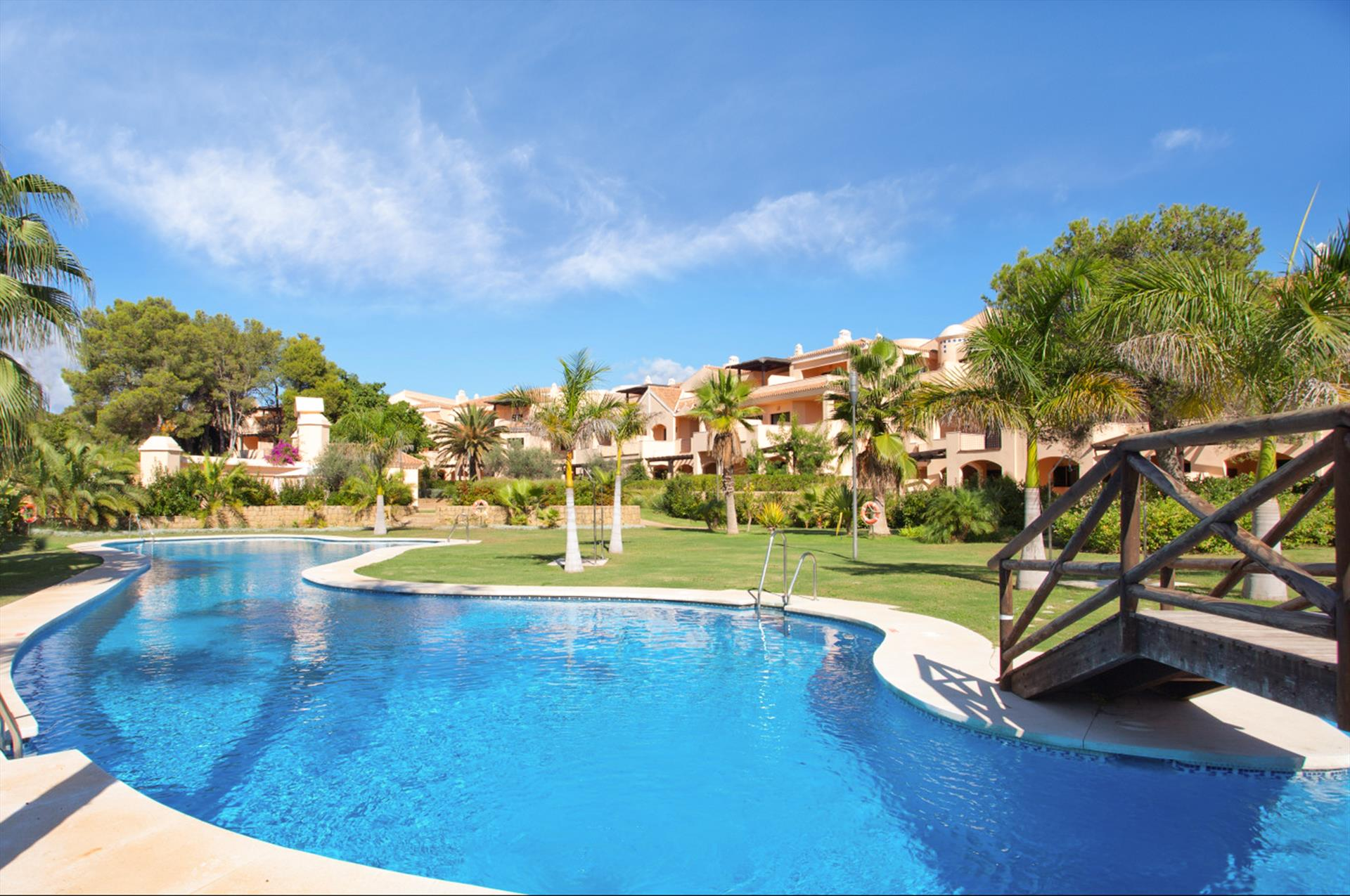 Las Mimosas, Modern and luxury apartment in Marbella, Andalusia, Spain  with communal pool for 4 persons.....