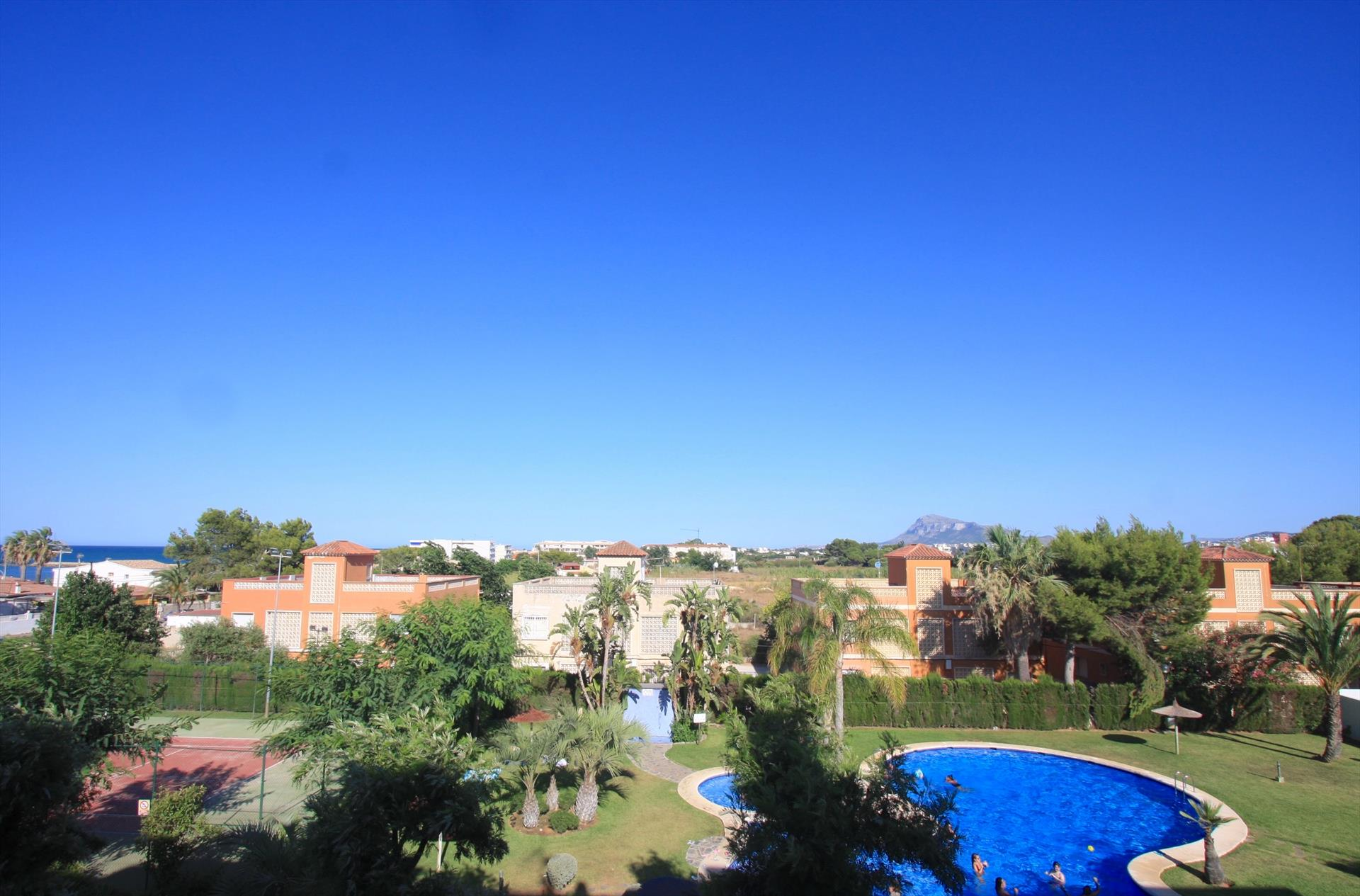 Eos apartamento,Appartement in Denia, aan de Costa Blanca, Spanje  met gemeenschappelijk zwembad voor 4 personen...
