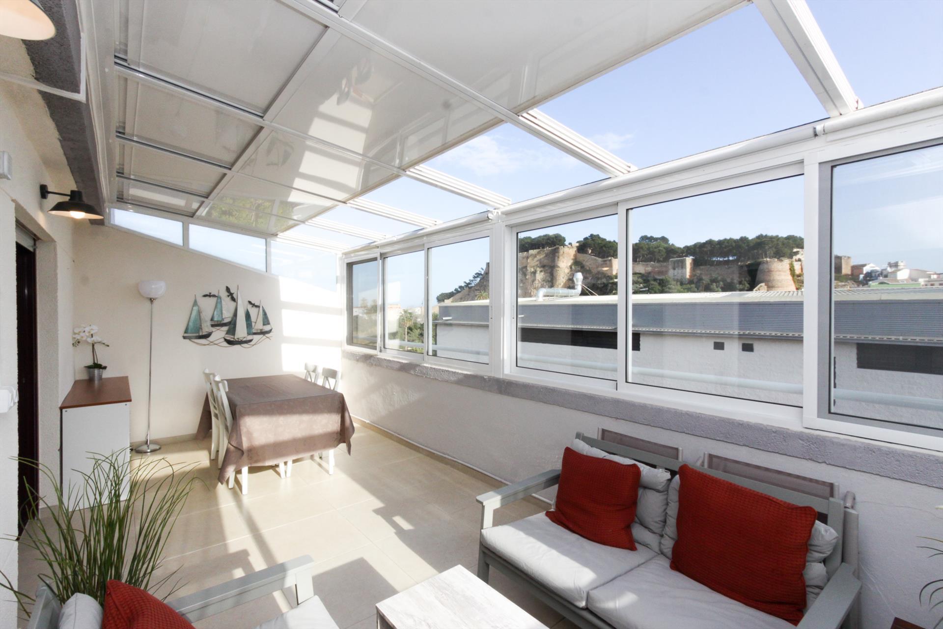 Mira rosa atico,Appartement in Denia, aan de Costa Blanca, Spanje voor 4 personen...
