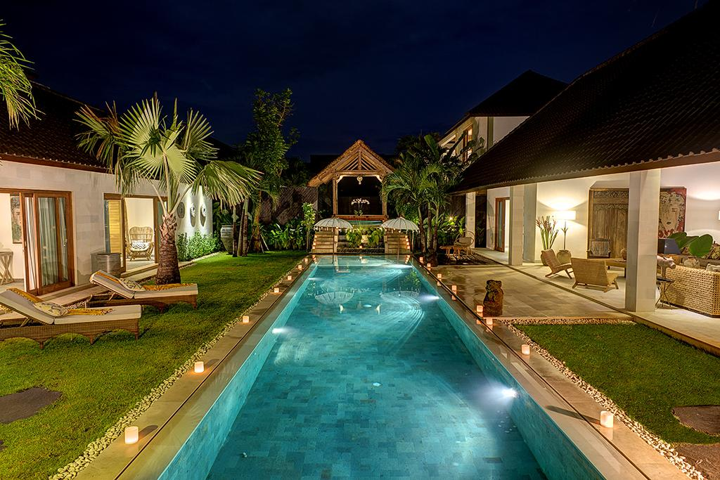 Nyoman 4BR, Beautiful and  luxury villa  with private pool in Seminyak, Bali, Indonesia for 6 persons...