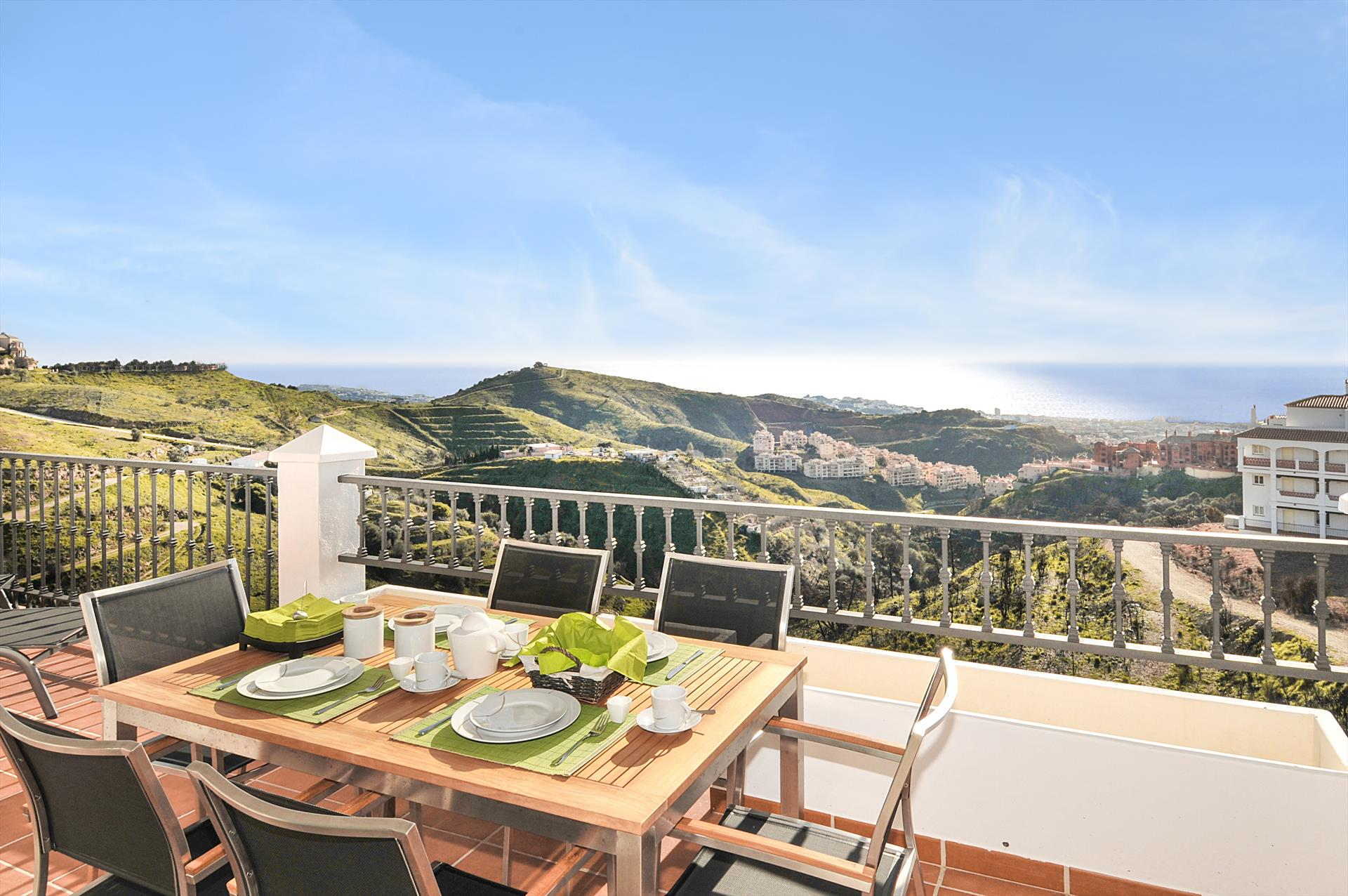 Las Palmeras 307, Modern and comfortable apartment in Mijas Costa, Malaga, Andalusia, Spain  with communal pool for 4 persons...