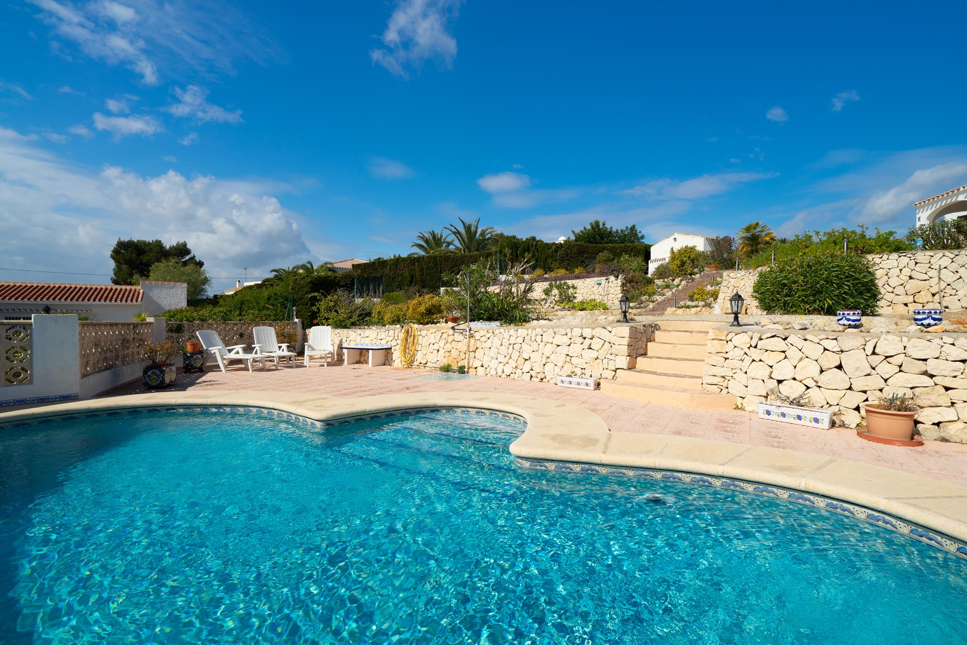 Ayora, Beautiful and classic villa  with private pool in Javea, on the Costa Blanca, Spain for 8 persons...