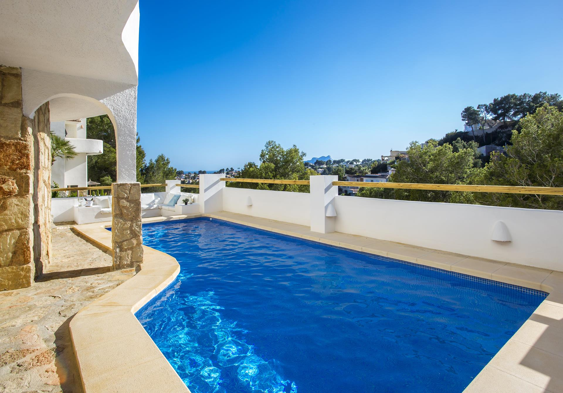 La Vida, Comfortable villa in Benissa, on the Costa Blanca, Spain  with private pool for 8 persons.....