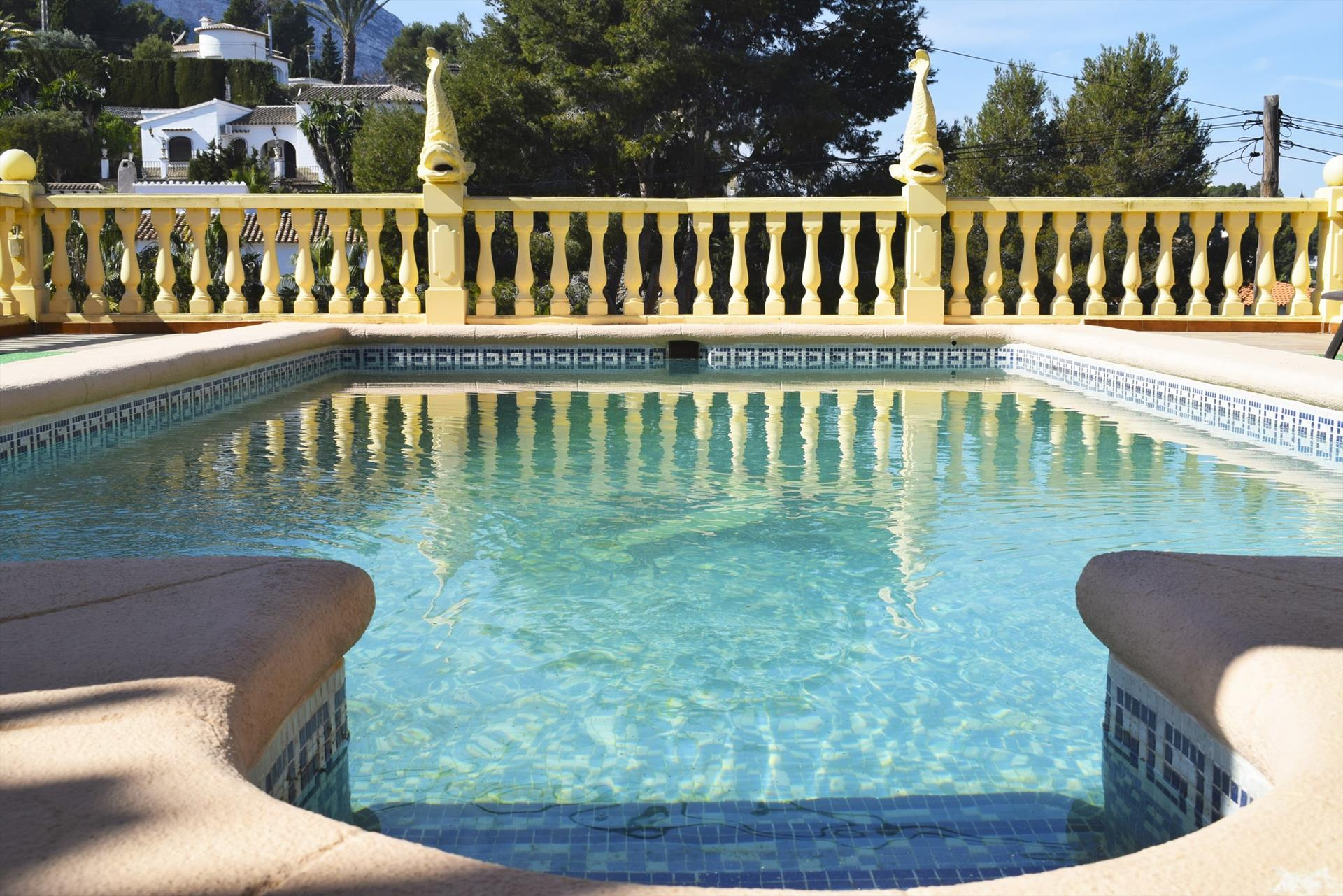 CH3209, Rustic and classic holiday house in Denia, on the Costa Blanca, Spain  with private pool for 8 persons.....