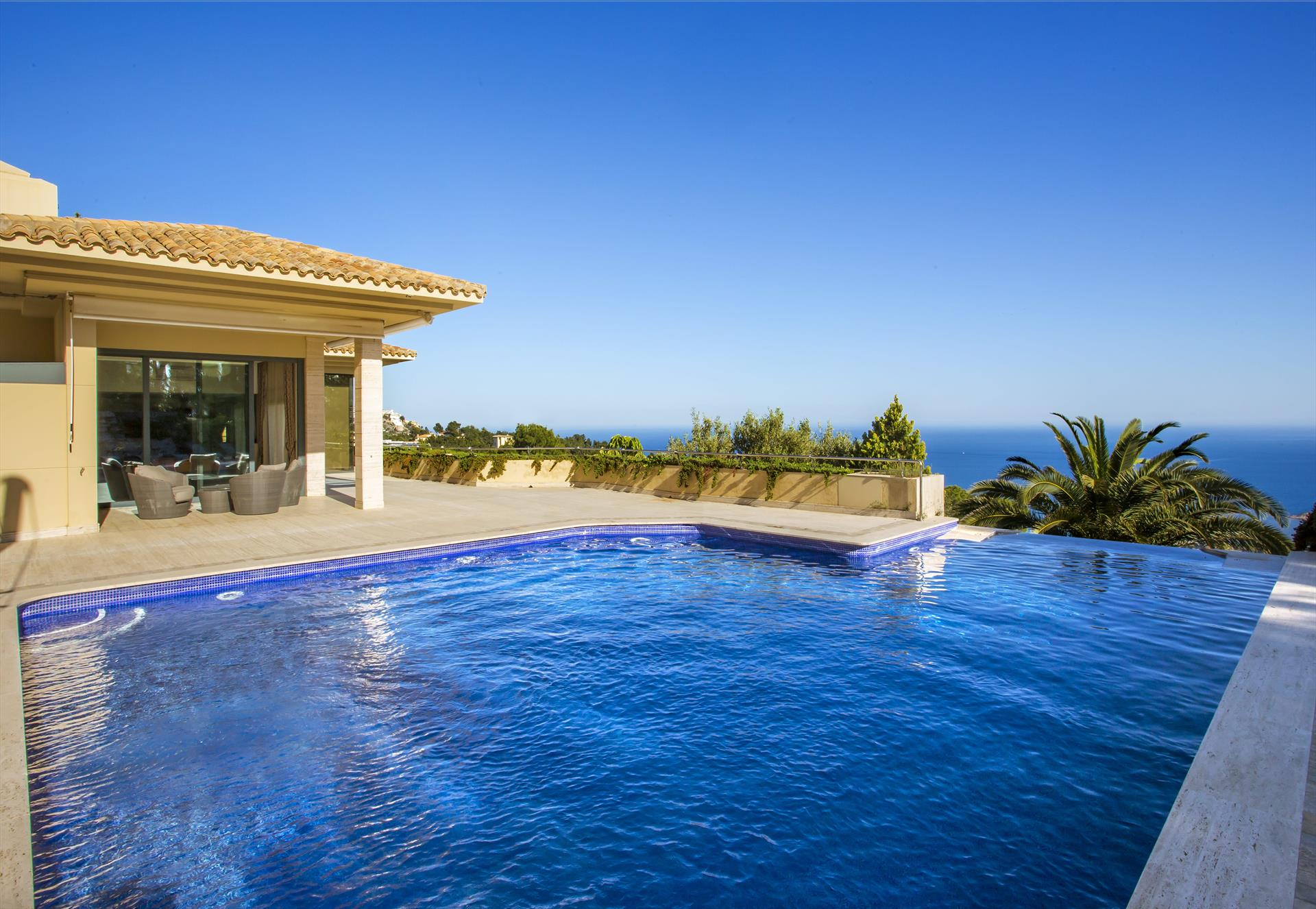 La Murta, Luxury villa in Altea, on the Costa Blanca, Spain  with private pool for 10 persons.....