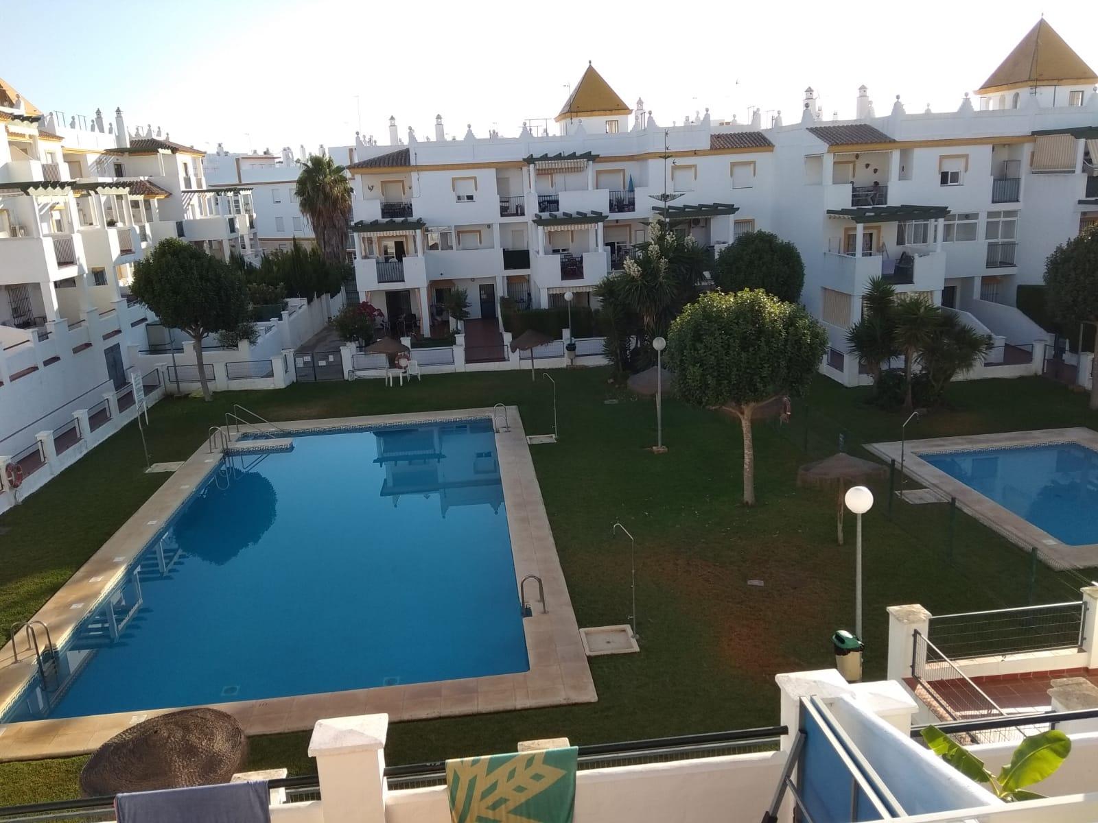 Conil 162 P4,Apartment  with communal pool in Conil de la Frontera, Costa de la Luz, Spain for 4 persons.....