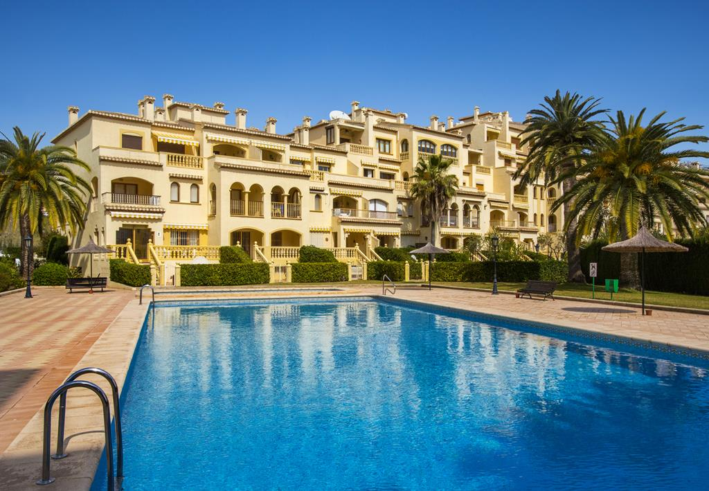 Jardines del Sol, Wonderful and classic apartment in Javea, on the Costa Blanca, Spain  with communal pool for 5 persons...