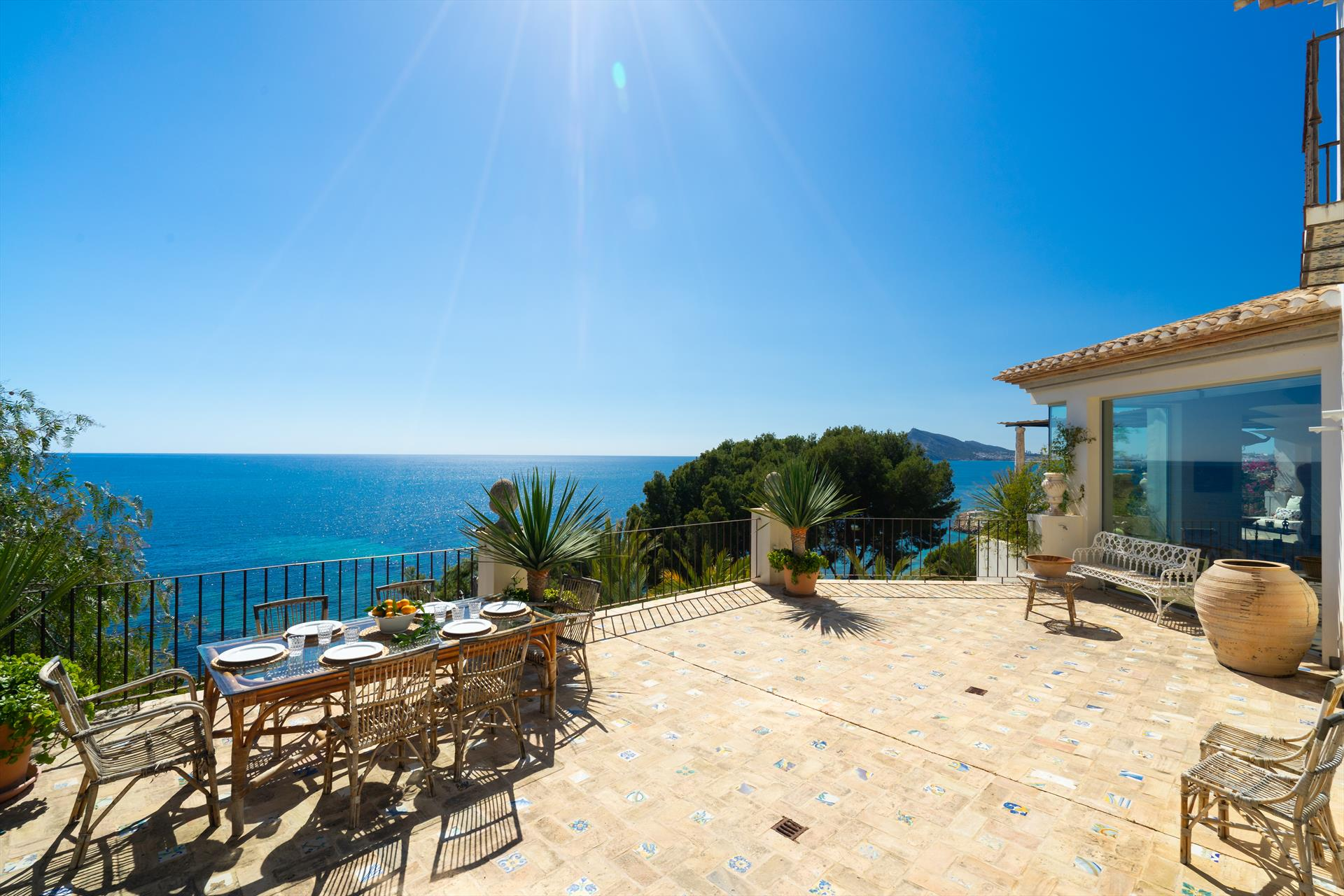 Villa Solei 6, Large and  luxury villa  with private pool in Altea, on the Costa Blanca, Spain for 6 persons.....